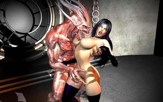 3D heavy fantasy about princess