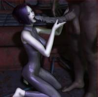 3d monster porn story