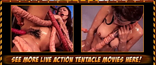 Japanese tentacle sex clip