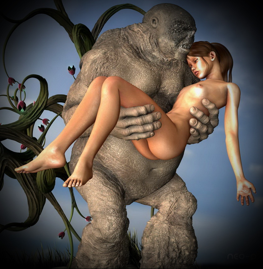 Sex with ugly monster