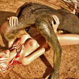 Sex monster 3d action! in Monster Sex 3D  Category