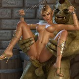 Pretty monster sex videos in Monster Sex 3D Video  Category