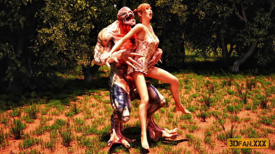 Порно лес мутанты