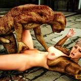 3d monster porn - Snake Mutant in Monster Sex 3D  Category