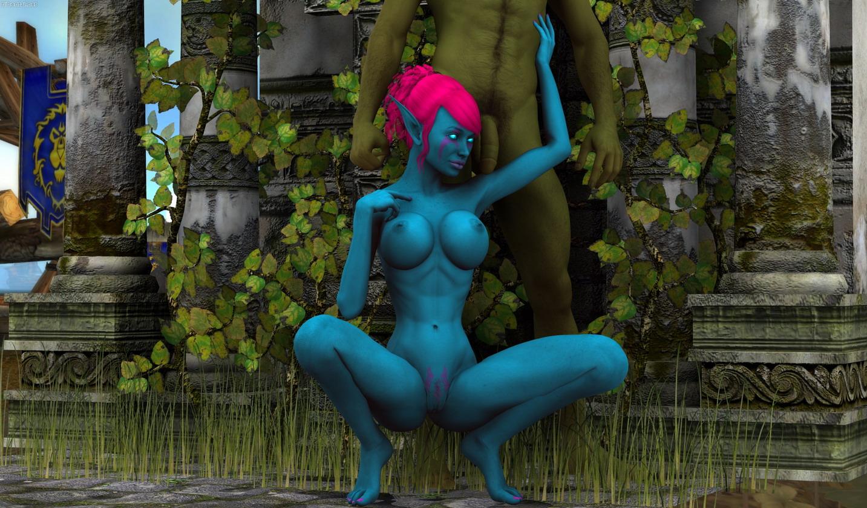 Monster Sex 3D scenes