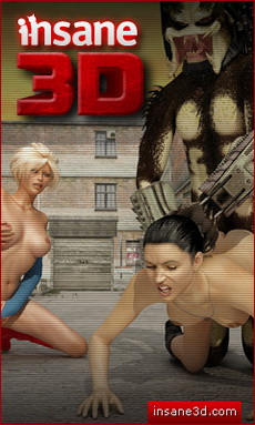3D Monster Sex Site
