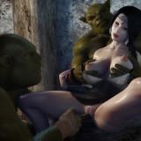 3D Evil Monsters in Monster Sex 3D  Category