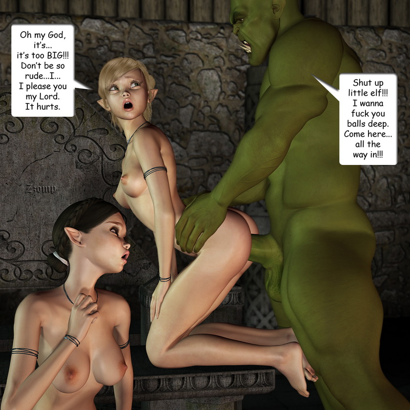Extreme monster sex