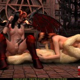 Wings of demons porn in Monster Sex 3D  Category