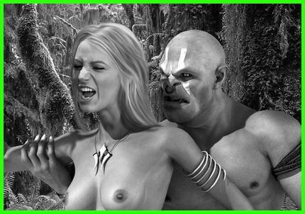 Sex in jungle
