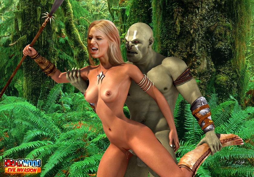 Sex in jungle in Monster Sex 3D  Category