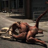 Demon On a Street in Monster Sex 3D  Category