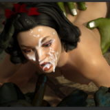 Snow White in monster sex in Small Monsters in Sex  Category