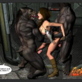 Only Lara in Monster Sex Comics  Category