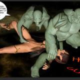 Ogres like big lovers in Monster Sex 3D  Category
